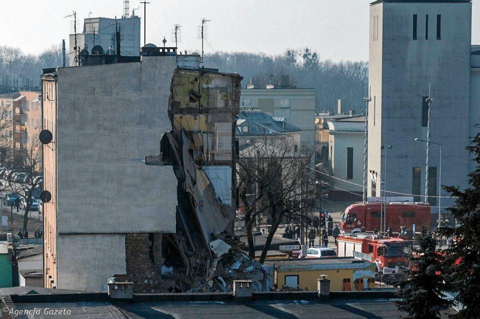 Wybuch w kamiennicy w Poznaniu