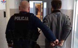 Złodziej ze Świdnika złapany przez Policję.